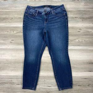 Torrid Stretch High Rise Curvy Skinny Jeans 14R